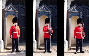 garde royal palais de buckingam