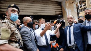 انفجار لبنان 2020 .. ماكرون يحذر من الانهيار ويؤكد تنظيم مساعدة دولية