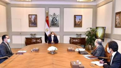 السيسي يوجه بتطوير مصانع الإنتاج الحربي لتوطين التكنولوجيا الحديثة بمصر