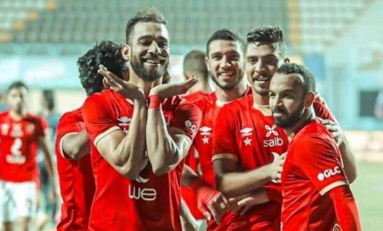 موعد مباراة الأهلي والجونة والتشكيل وترتيب الدوري المصري 2021