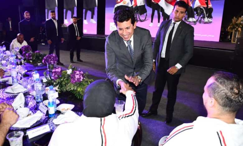 بارالمبياد طوكيو.. وزيرا الرياضة والاتصالات يشهدان احتفالية شركة WE بالأبطال البارالمبيين