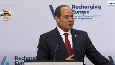 السيسي لا يوجد تجاوز بمعايير حقوق الإنسان في مصر .. نص كلمة الرئيس اليوم (فيديو)
