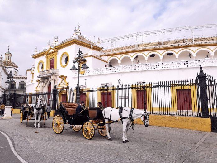 Arènes de la Real Maestranza Séville