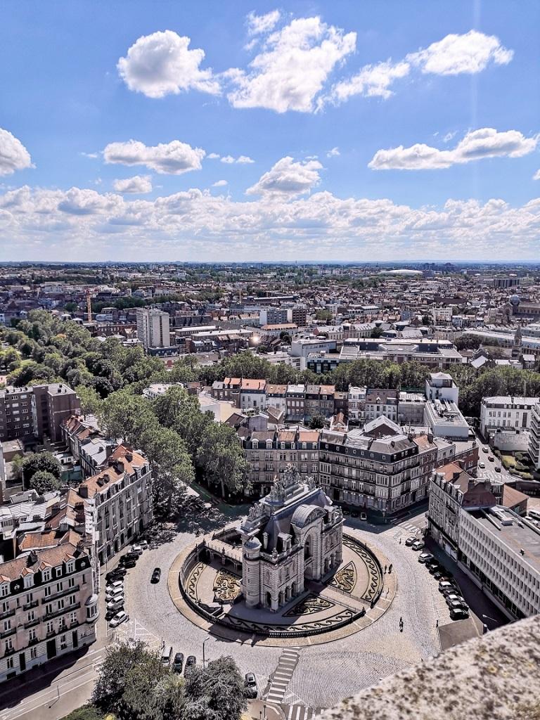 Vue du Beffroi de Lille