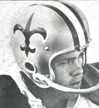 1967 Saints Kicker Charlie Durkee