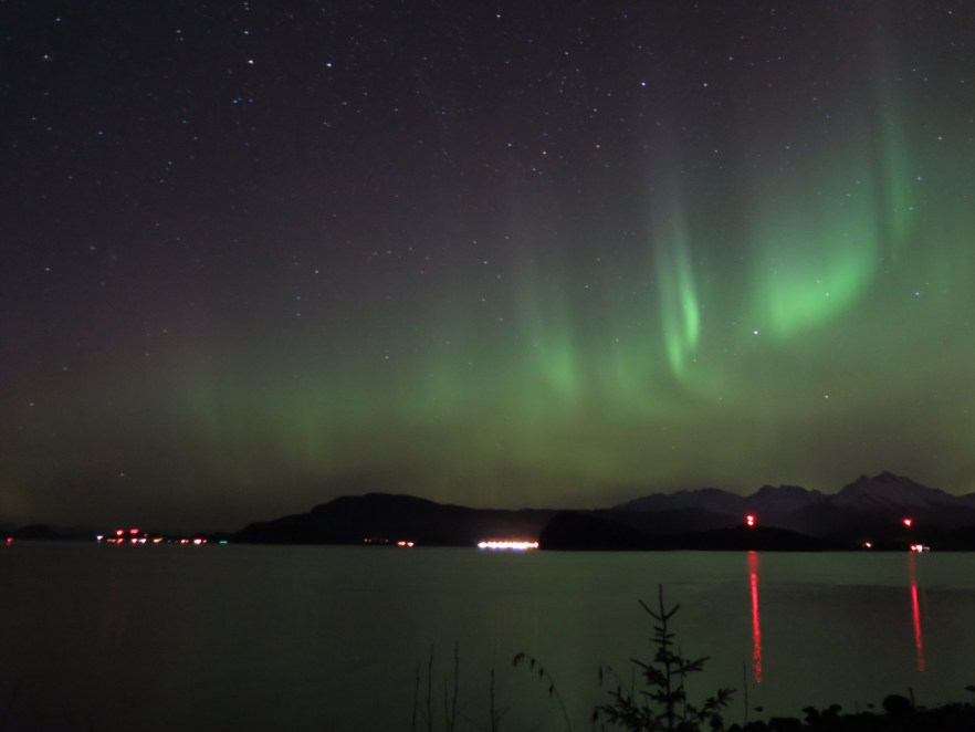 The Northern Lights never get old, either.