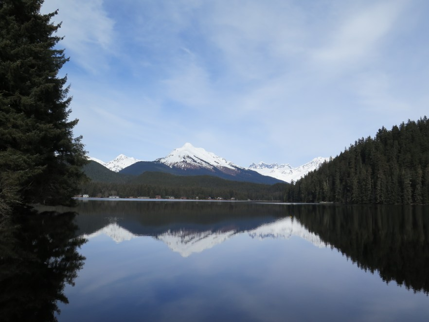 The reflection at Auke Lake never ceases to take my breath away.