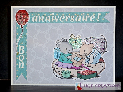 Carte d'anniversaire (CA-3)