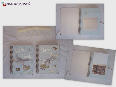 Un Patch Book : Couverture et page de garde (#17)