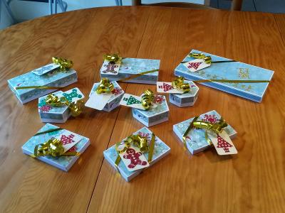 Avalanche de boites cadeaux