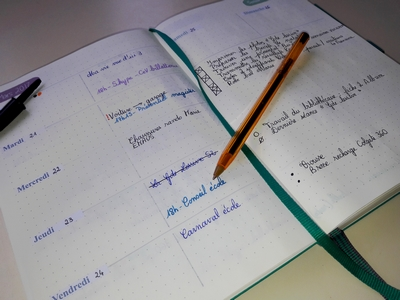 Un nouvel agenda... Bullet Journal