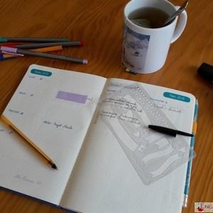 Bullet Journal - update 3