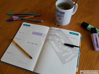 Bullet Journal - update 3
