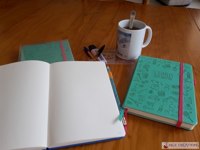 Bullet journal ♦ Pourquoi j'ai adopté le carnet Scribbles That Matter
