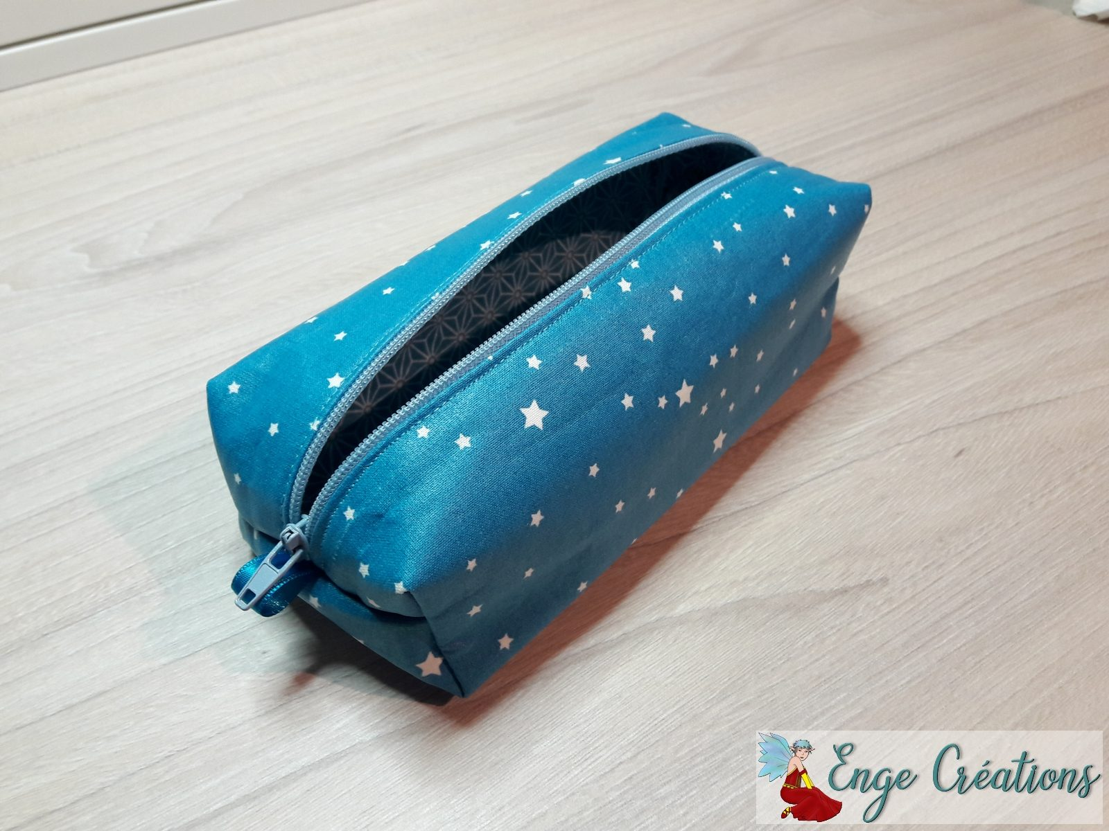 Trousse Isabelle turquoise
