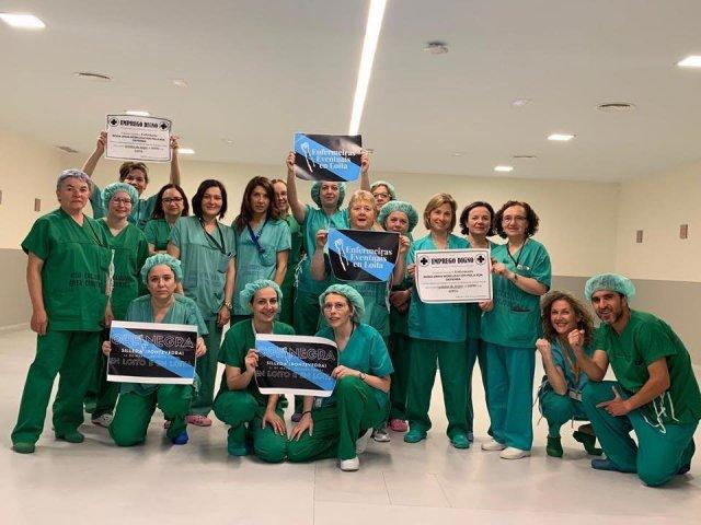 """Case 90% das enfermeiras eventuais considera a súa situación como """"precariedade laboral"""""""