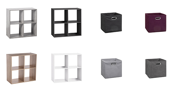 etagere 4 cases mix n modul five