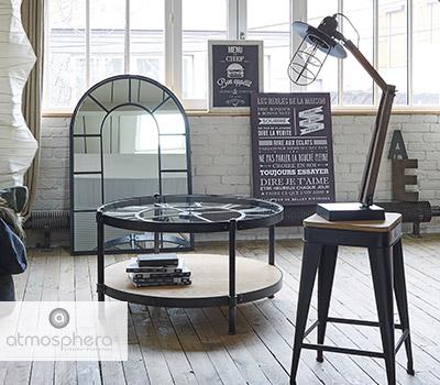 style industriel du mobilier retro