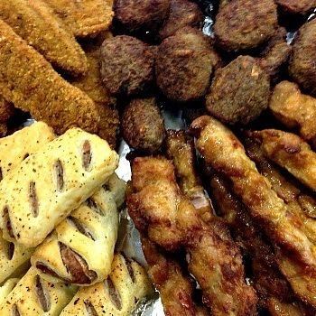 Hot Savoury Platter