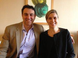picture of Kari Paulson and Kevin Sayar