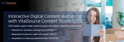 VitalSource Content Studio