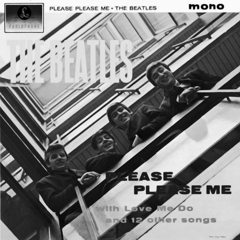 GN Beatles PleASE plEASE ME MONO