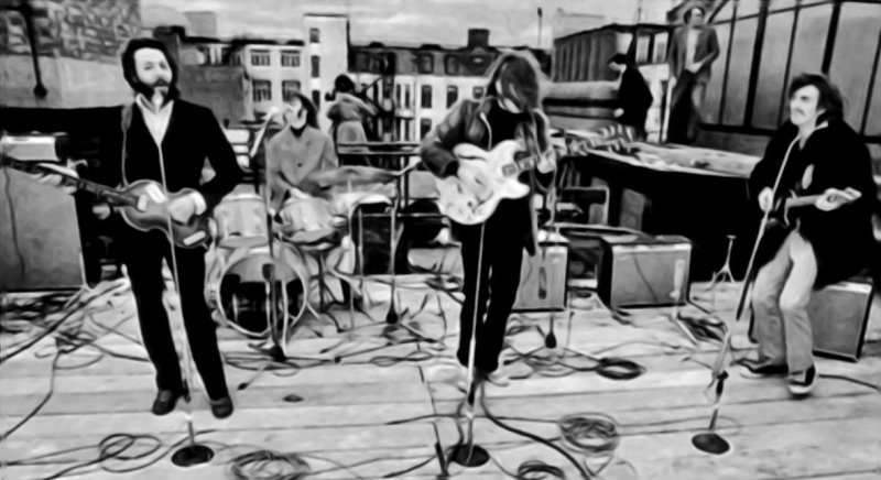 GN Beatles Rooftop