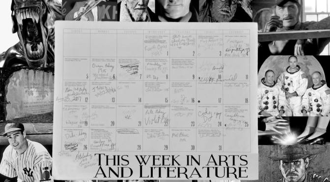This week in Literature and Arts