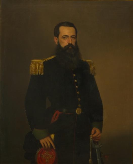 """""""Coronel Alvaro Barros""""-Las barbas del MNBA"""