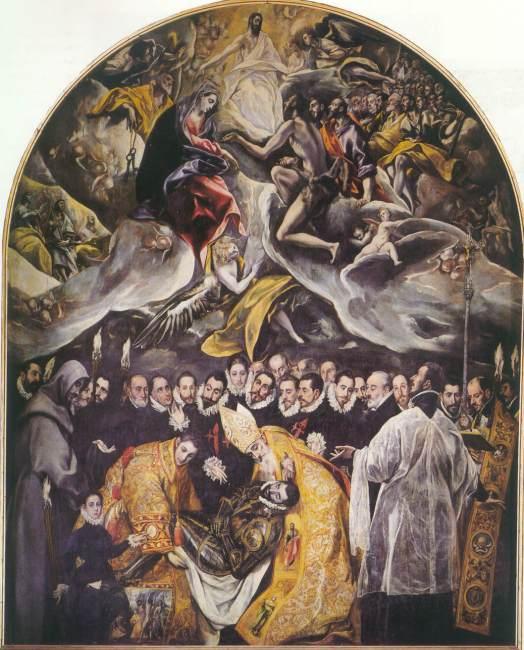 El Entierro del Conde de Orgaz (1586–1588)
