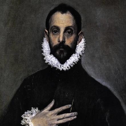 El Greco, Autorretrato (1583)
