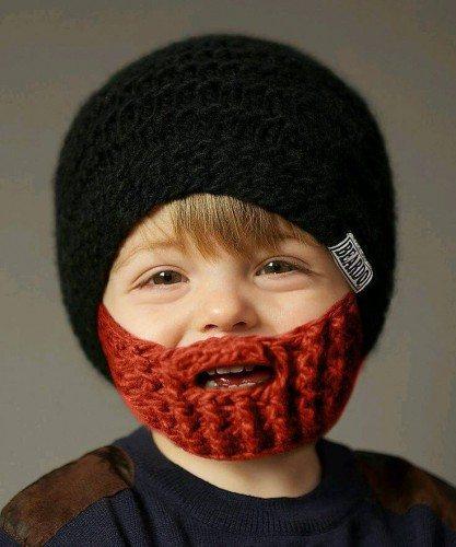 ¡Barbitas y gorritos de crochet!