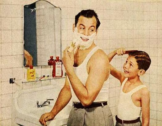 El día que afeite a mi padre