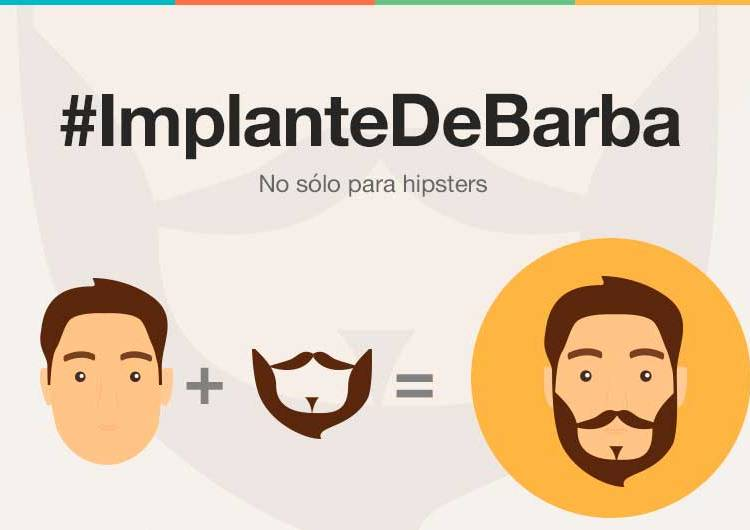 Implante de barba-No sin mi barba