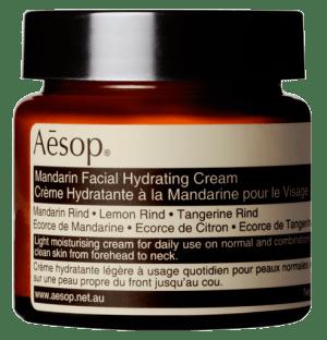 crema hidratante facial Mandarin de Aēsop