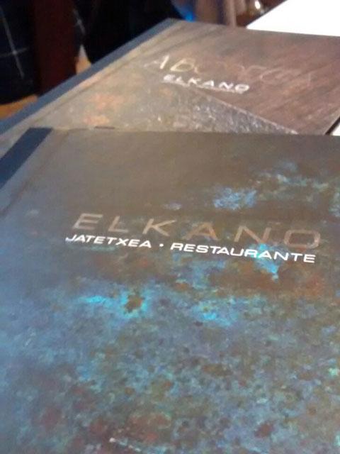 Elkano - Bilbao de mesa y mantel - No sin mi barba