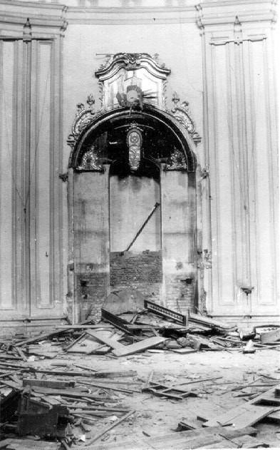 ALTAR DEL CRISTO AFLIGIDOS SAN FELIPE TRAS 1931