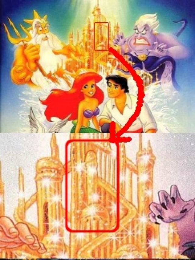 Resultado de imagen de La Sirenita (La forma fálica de la torre del castillo)