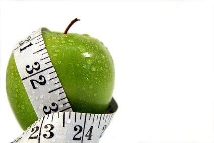 Quema calorías comiendo Manzana