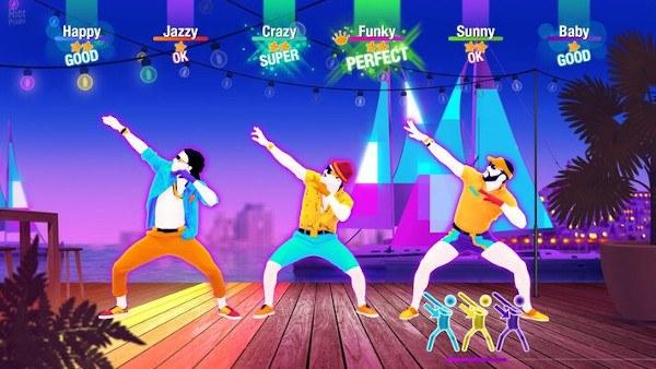 Pantalla del videojuego Last Dance