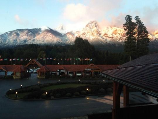 Vista para as montanhas, Hotel Llao Llao