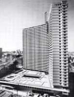La imagen puede contener: rascacielos, cielo y exterior