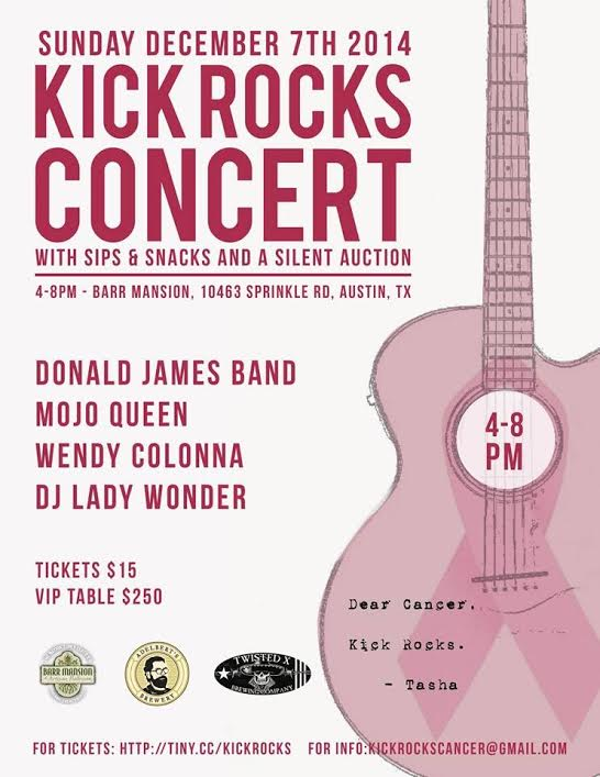 Kick Rocks Concert, Benefit at Barr Mansion