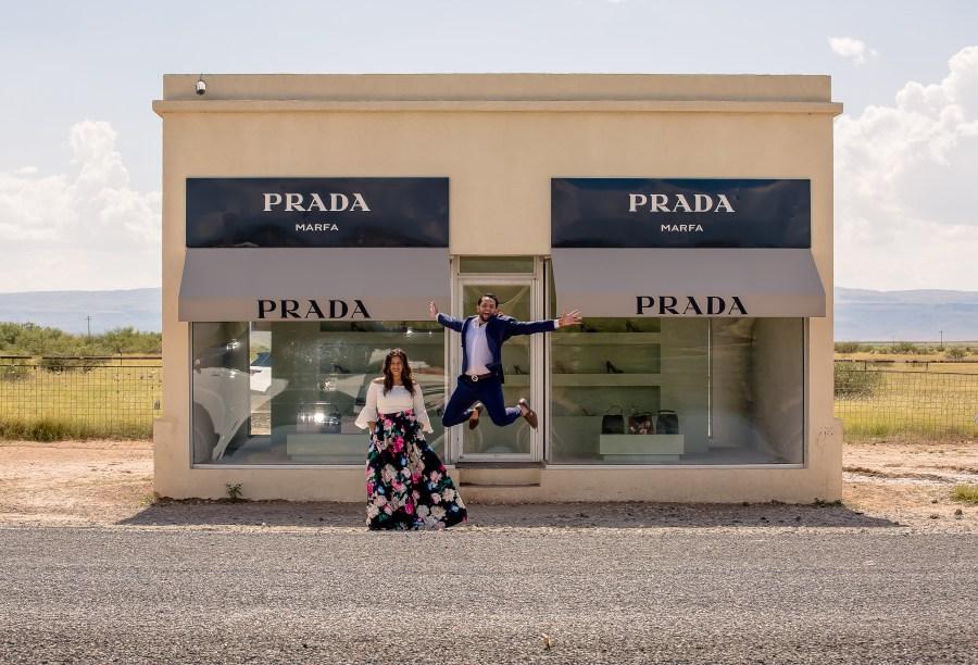 Marfa, Texas, Love Story Videography | Engagement Photography: Sara & Gursimran