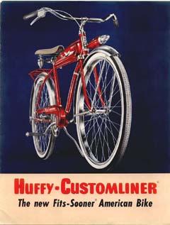 1955 Huffy Customliner Catalog Daves Vintage Bicycles