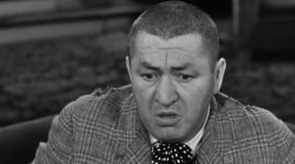 A sicker, more pale Curly from The Three Stooges.