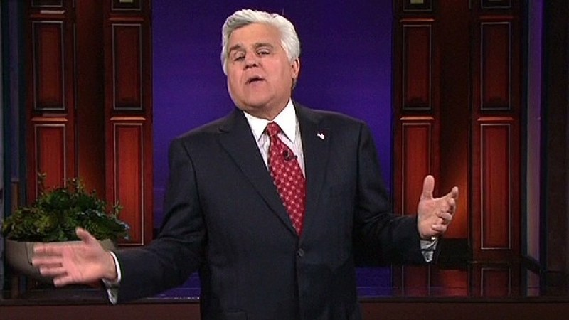 Wheeeere's Johnny? Late-Night TV Could Definitely Use A Host Like You! (The Tonight Show, Jay Leno)