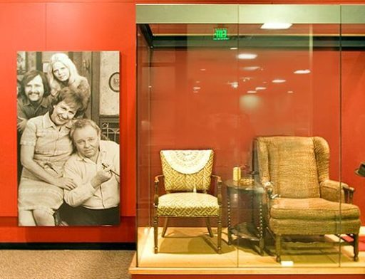 All in the Family - Archie and Edith Chairs in the Smithsonian