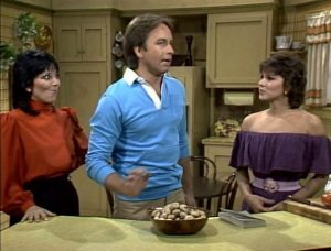 Three's Company Episode: Cousin, Cuisine (with Felipe's cousin Maria)