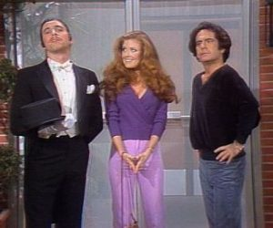 Three's Company Episode: A Crowded Romance (Jack, and Larry with Twinkie and Bunny)
